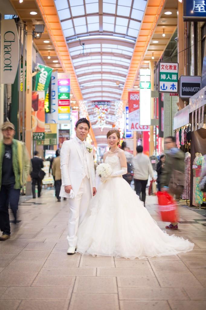 婚紗攝影X街景